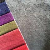 Velours de tricotage gravé en relief avec la couleur de deux sons (XF001)