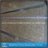 Natürliche Polierrostige gelbe Stein-Jobstepp-Treppe des Granit-G682