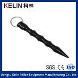 Trousseau de clés de Shape Black Kubaton de faisceau filiforme pour l'Individu-défense Guards