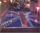 P10 acrílico impermeable RGB baile paneles LED pista de baile de vídeo para la fiesta de la boda etapa de la pantalla