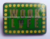 Pin duro di Wook Lyfe dello smalto (MJ-PIN-048)