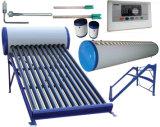 Energía solar solar no presurizada del sistema del calentador de agua de la presión inferior, sistema de la calefacción por agua del colector solar