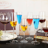Vidro de vinho de vidro do Goblet/do espaço livre Handmade da alta qualidade