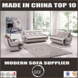 Sofá de cuero moderno del ocio de la sala de estar caliente de la venta