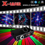 2W RGB Full Color Animation com laser Projector/disco DJ Light Equipment de SD+2d+Animation Fireworks+Beam