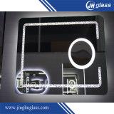 Espejo del LED con magnificar para el cuarto de baño