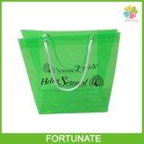 O delicado personaliza o saco de mão de empacotamento do PVC para o pano