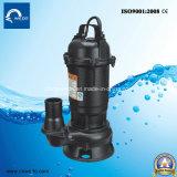 Wqd Abwasser-elektrische versenkbare Wasser-Pumpe für schmutziges Wasser