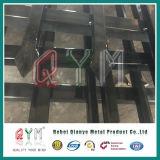 까만 색깔 창 최고 단철 장식적인 담 또는 용접된 강철 말뚝 울타리