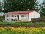 살기를 위한 강철 구조물 조립식 건물