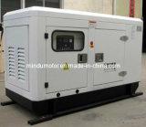 Goede Kwaliteit en Lage Diesel van de Brandstof Super Stille Generator 105kVA