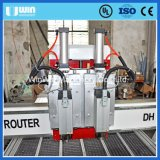 Doppelte Spindel hölzerne metallschneidende CNC-Fräser-Maschine für Verkauf