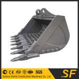 Cubeta de esqueleto da máquina escavadora, cubeta do crivo da peneira da maquinaria da máquina escavadora