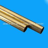 Aislante de tubo de cobre amarillo drenado duro inconsútil estándar de JIS H330