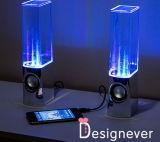 Iluminación colorida del altavoz LED de la fuente del altavoz del baile del agua (STD-WC01)