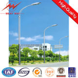 Street Lights를 가진 최신 DIP Galvanized Steel Tubular 폴란드