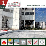 Tenda della sfera mezza della tenda della cupola geodetica sulla vendita calda