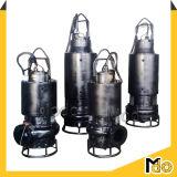 Bomba sumergible centrífuga eléctrica de la mezcla del impulsor del acero inoxidable