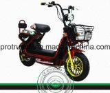 Batteria al piombo del motociclo elettrico rosso