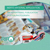 Papier photo blanc BOPP Jumbo Roll pour imprimante numérique Indigo