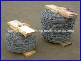 Vente chaude galvanisée ou barbelé enduit de PVC pour la frontière de sécurité