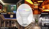 projecteur de 4W GU10 RGB+CCT DEL