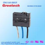 CQC, cUL, UL, ENEC aprovou o mini micro interruptor selado 3A 125/250VAC 30VDC