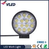 Lámparas de trabajo luz del trabajo de 42W CREE LED para el carro