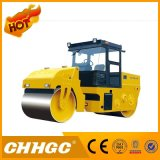 distribuidor Vibratory dobro à mão dos rolos de estrada do cilindro de aço de 2t 3t 4t mini