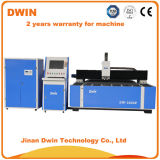 Fait dans la machine de découpage de laser de fibre en métal de la Chine Dwin 1000W