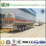 tanker van de Legering van het Aluminium van 50cbm de Chemische Vloeibare