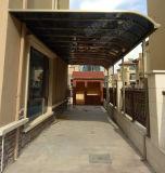 Aluminio-Alloyaterpr&PC de Rainshed Sunshed de los garages del pabellón de Woofshad del toldo de la tienda de la terraza del Gazebo