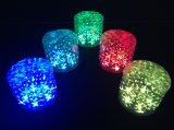 LED LED 10 피스를 가진 야영 손전등 Inflatabe 태양 손전등 LED