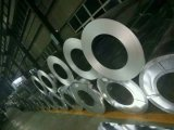 Bobina de acero galvanizada material de acero que cubre sumergida caliente