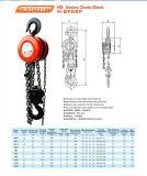 0.5t-30tのShuang GE Brand Hs Series Chain Block