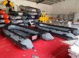 barca gonfiabile di sport della barca di rematura della barca di 4m 13.1FT Hy-S/E400 Hypalon con i pavimenti facoltativi con il CERT del Ce. per la vendita