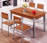 직사각형 Dining Table 및 Restaurant Furniture (DT-15)를 위한 Chair