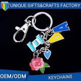 Fatto nell'ordine dell'OEM della Cina con gli anelli Keychain