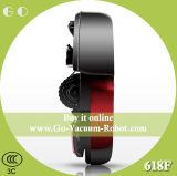 Бытовая Аккумуляторный робот пылесос для влажной и сухой, красный, низкий уровень шума, Auoto зарядки, предотвращения столкновений Очистка Аспиратор для дома
