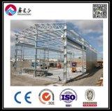 Entrepôt ou atelier en acier de bâti de l'espace de grande envergure en Roumanie (BYSS122906)
