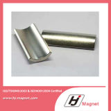 De super Macht Aangepaste Boog de Permanente Magneet van NdFeB van de Behoefte N35-N52/van het Neodymium voor Motoren