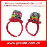 Sombrero del diseñador del sombrero de la fiesta de Navidad de la decoración de la Navidad (ZY14Y33-1-2)