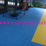 Preiswerter Spielplatz-Plastikmatten-Sicherheitskreis-Plastikmatte auf Aktien (A-22901)