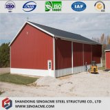 Almacén agrícola movible prefabricado de acero