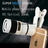 iPhoneの望遠鏡のためのズームレンズ8X 12Xの望遠鏡