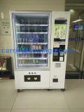 Máquina expendedora de la pantalla táctil para la bebida y los bocados de enfriamiento 10c (22SP)