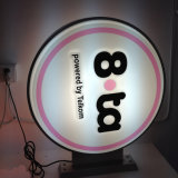 Café del anuncio LED y muestra al aire libre de la panadería