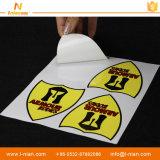 UV 저항하는 PVC 비닐 차 스티커를 인쇄하는 관례
