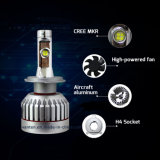 Kit del CREE LED ETI luz del coche de la lámpara auto H4 LED Faro