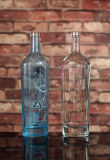 botellas modificadas para requisitos particulares 750ml de la vodka con color Spayed